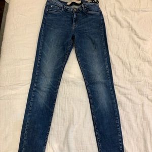 Zara skinny jeans, size eur38, usa6, premium wash